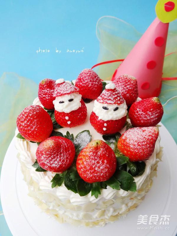 草莓奶油蛋糕怎样炒