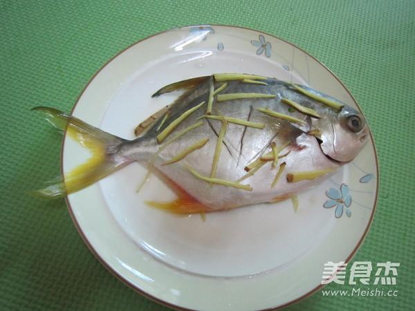清蒸金鲳鱼的做法图解