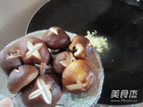 蚝油香菇油菜怎么做