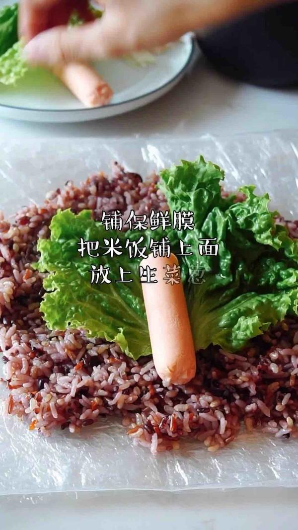 咸菜饭团的简单做法