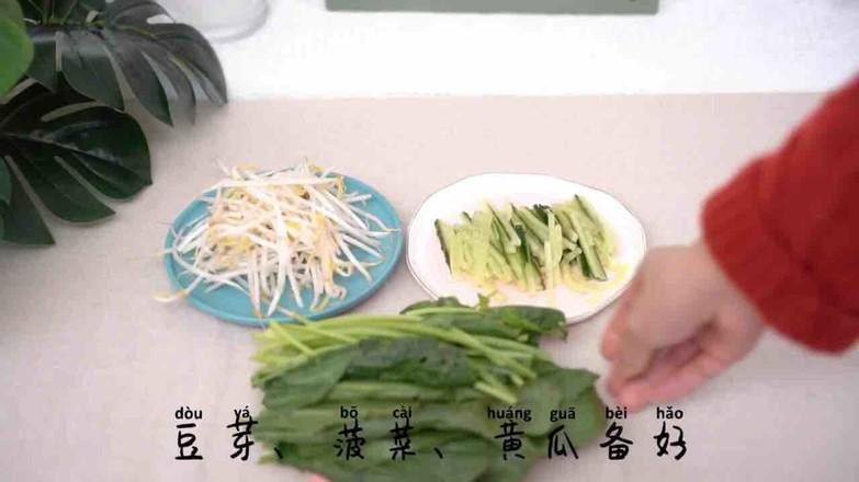 家庭版韩式拌饭的简单做法