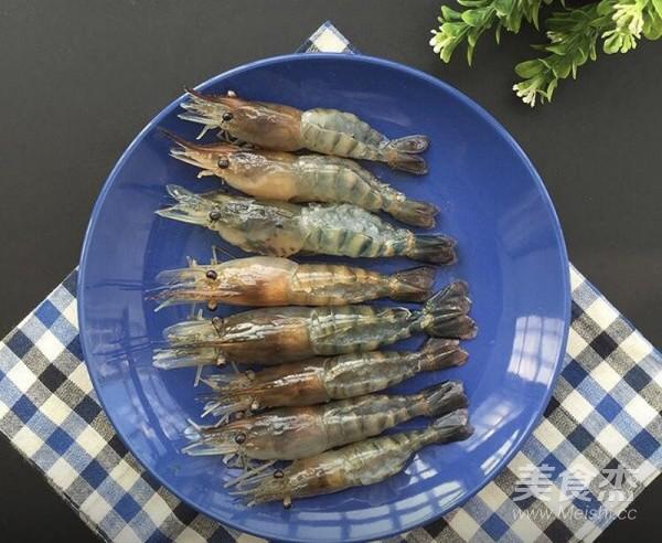 蒜蓉烤虾的做法大全
