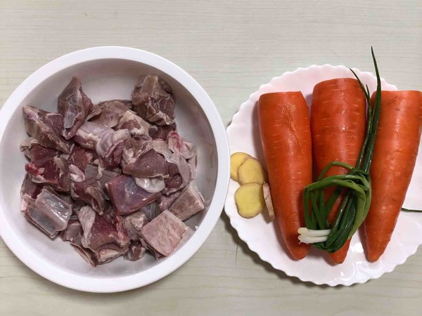 羊排炖胡萝卜的做法大全