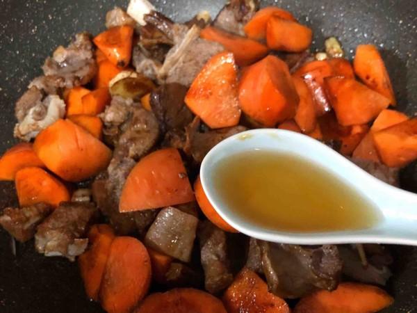 羊排炖胡萝卜怎么做