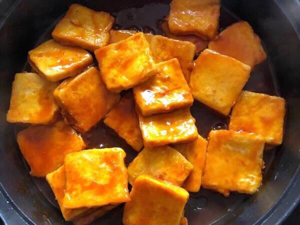 糖醋脆皮豆腐怎么吃