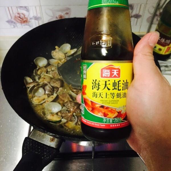 酱爆花蛤怎么炒