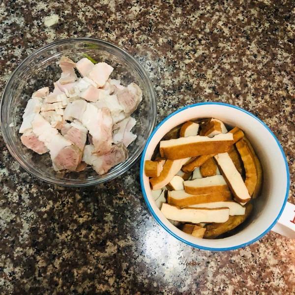 香干回锅肉的做法图解