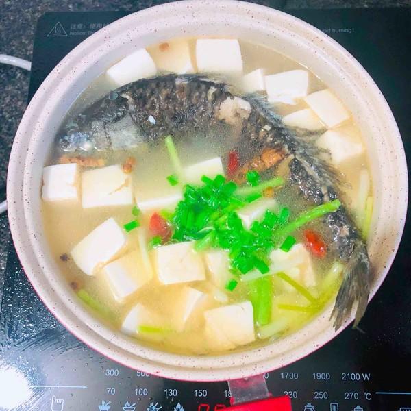 鲫鱼豆腐汤怎样炒