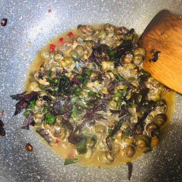 紫苏炒螺丝怎么煮