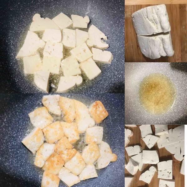 海带炒豆腐的做法图解