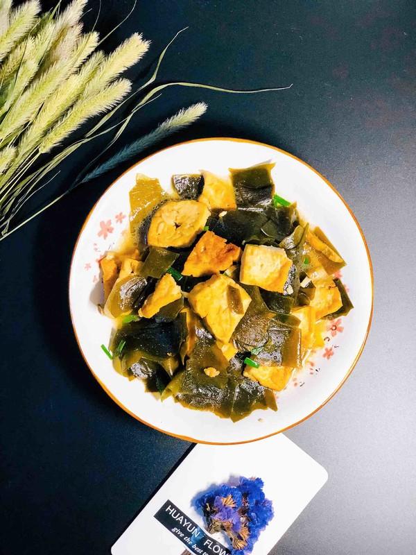 海带炒豆腐怎么炖