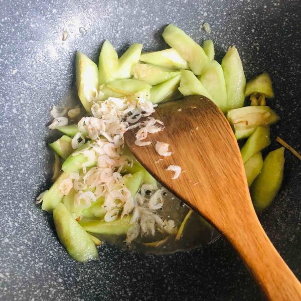 虾米爱上丝瓜怎么炒