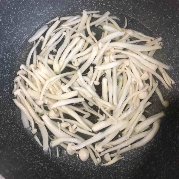 干锅海鲜菇的家常做法