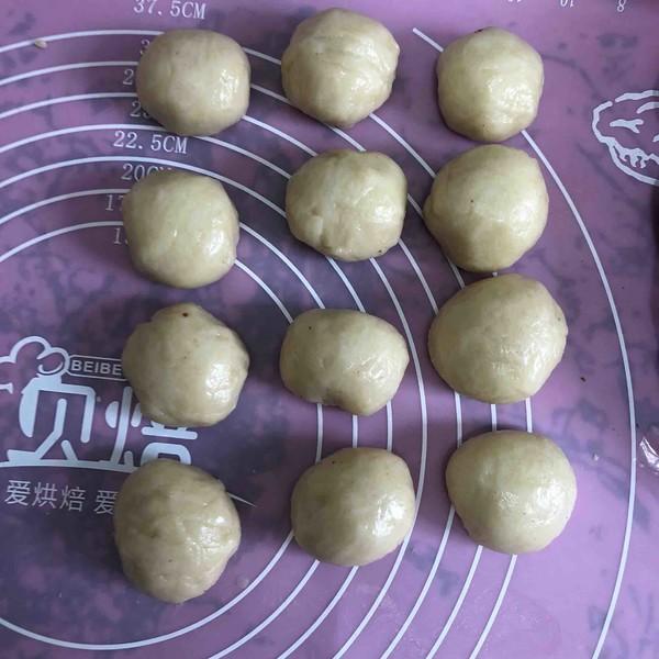 蛋黄酥的制作方法