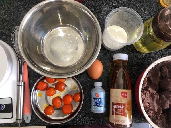 广式红豆沙蛋黄月饼的做法大全