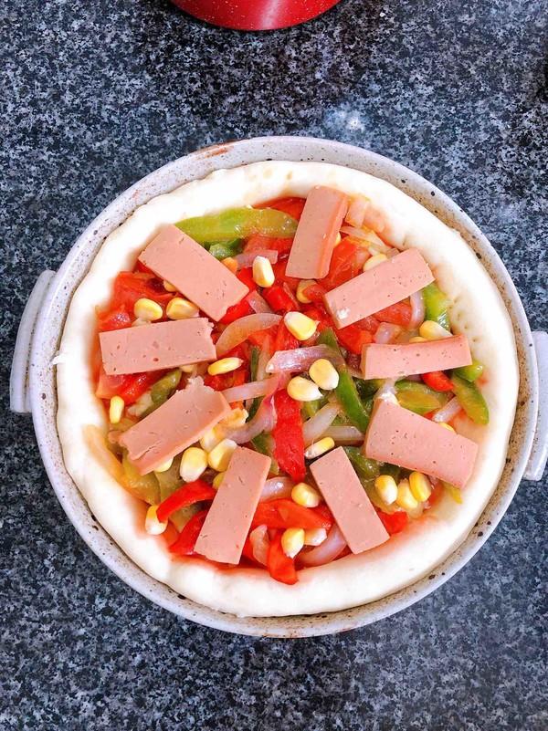 蔬菜火腿披萨怎样煮
