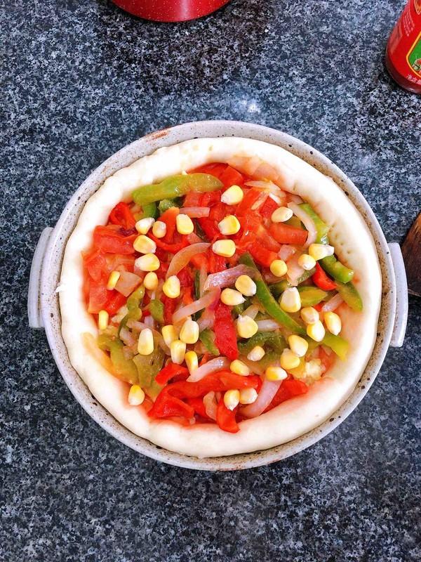 蔬菜火腿披萨怎样炒
