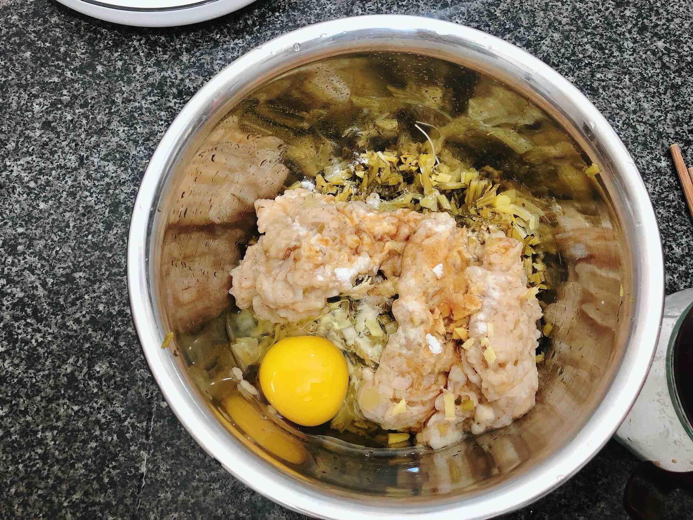 扇贝酸菜馅饺子怎么做
