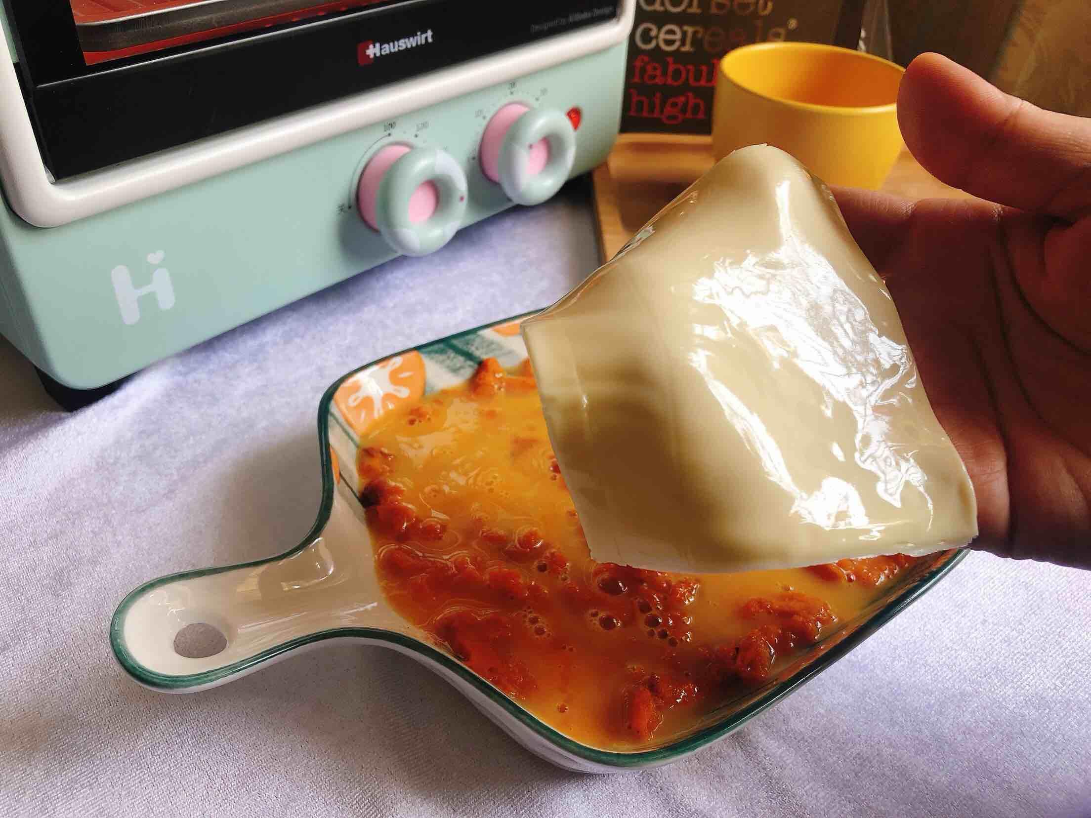 水果燕麦片之芝士焗南瓜的家常做法