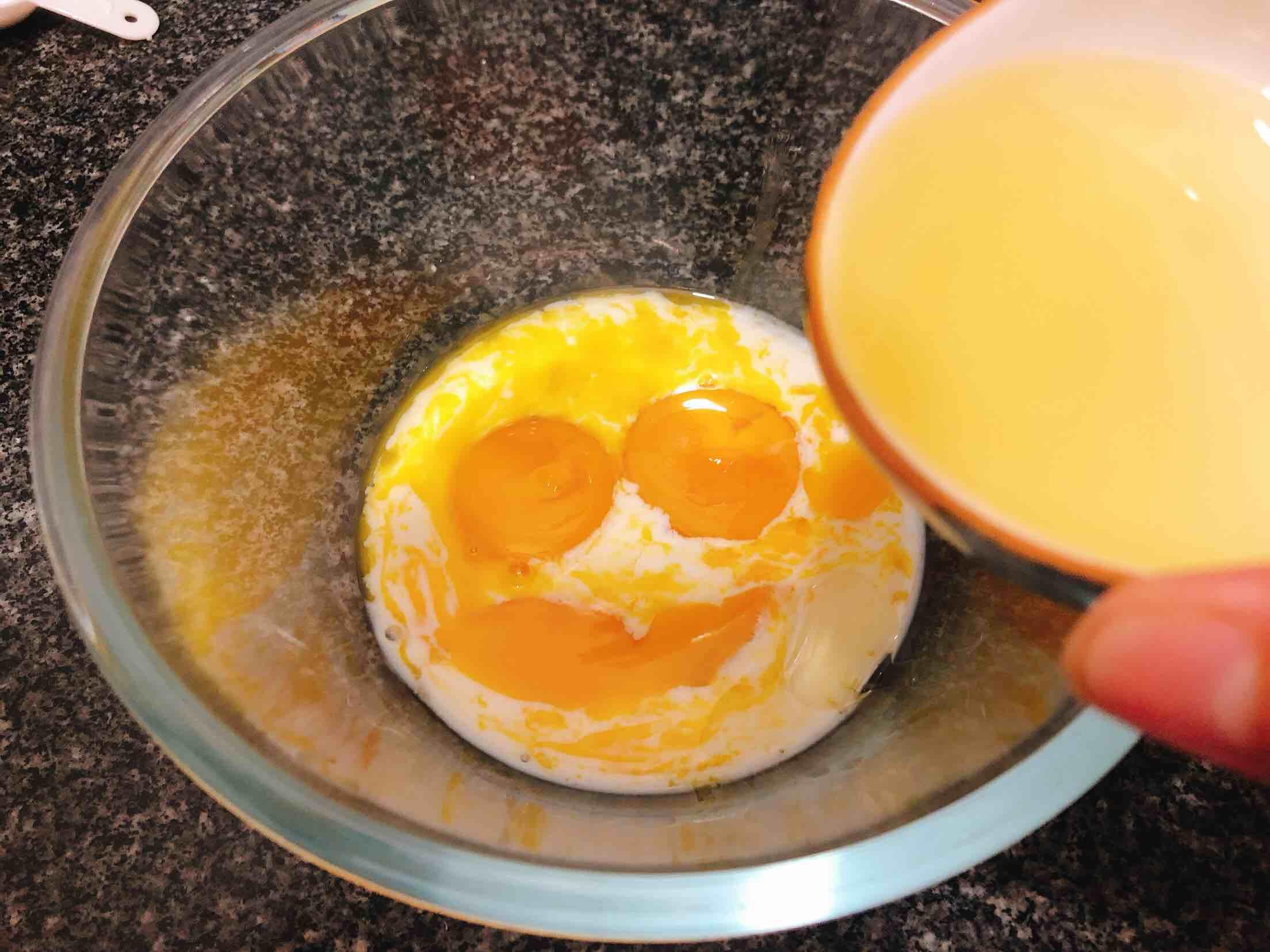 奶香浓郁的戚风蛋糕(6寸)的家常做法