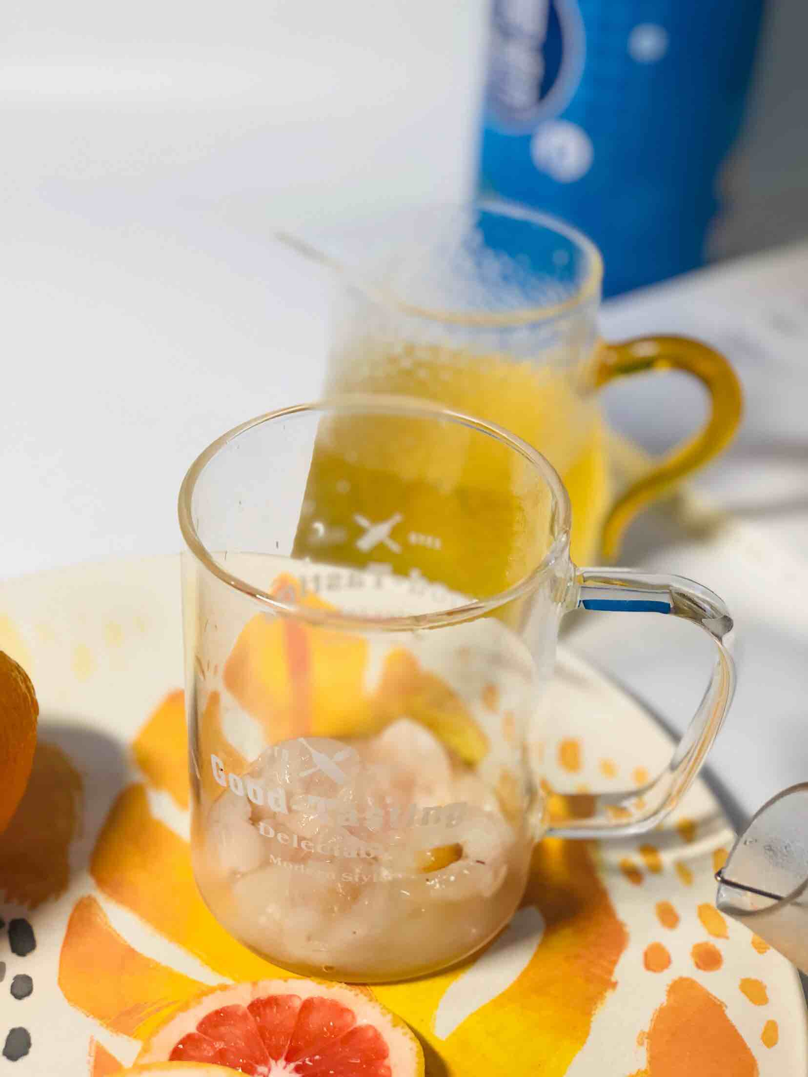 荔枝西柚莫吉托的简单做法
