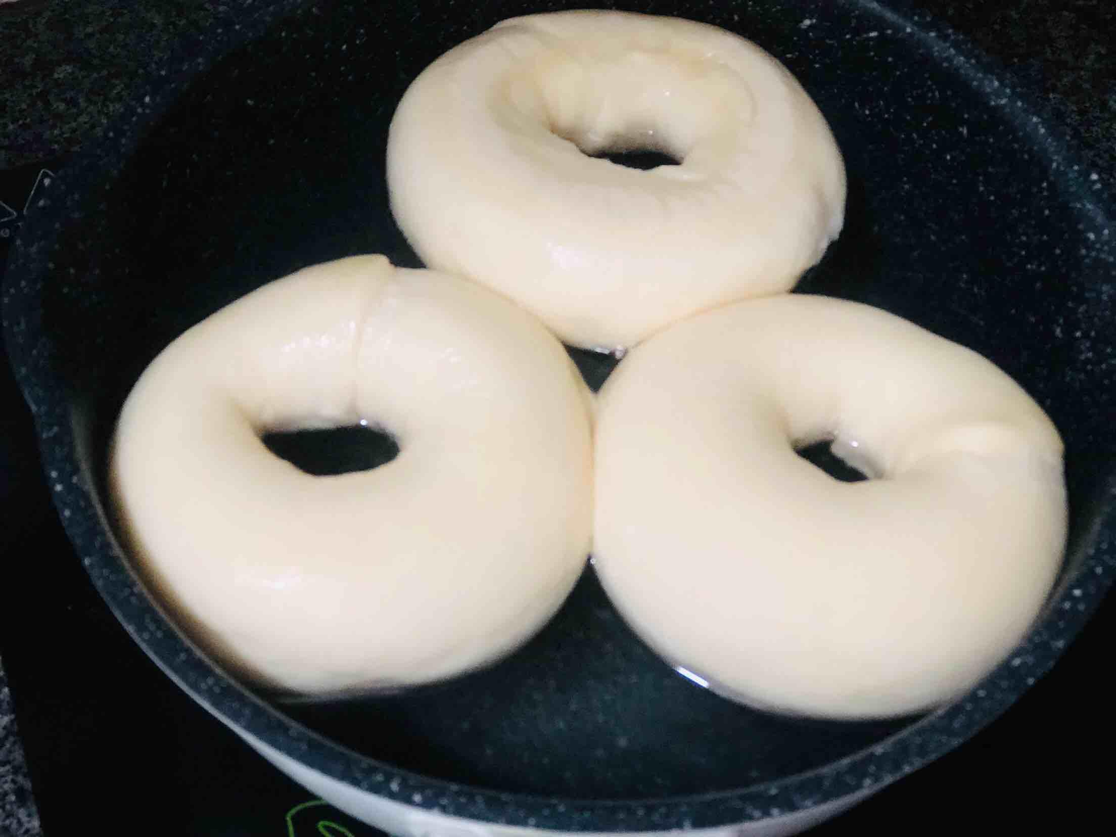 少糖少油的贝果的做法大全