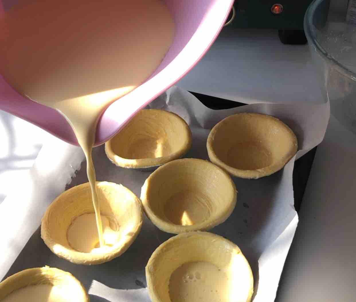 圣诞奶油蛋挞怎么煮
