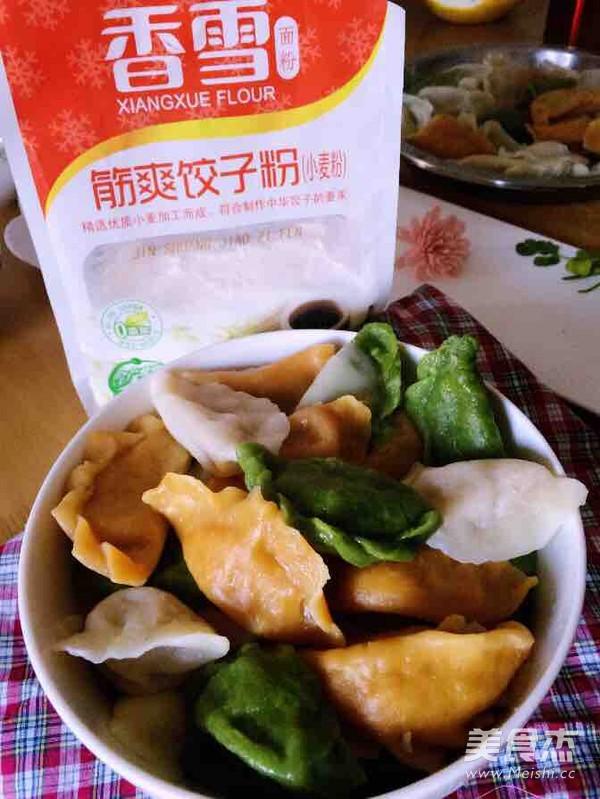 三色猪肉水饺怎样煮