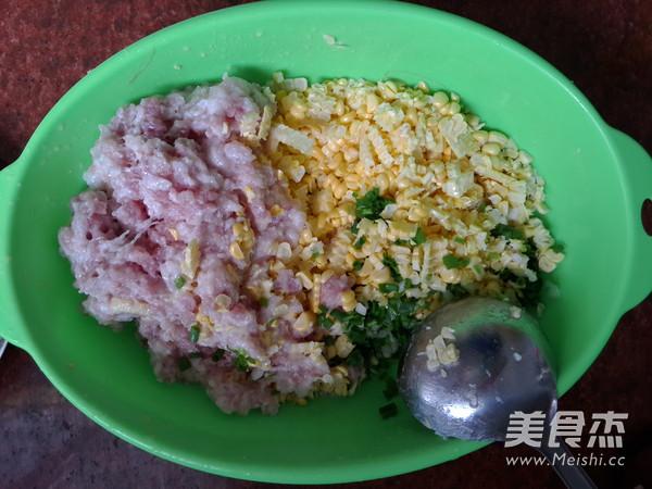 玉米鲜肉饺子的简单做法