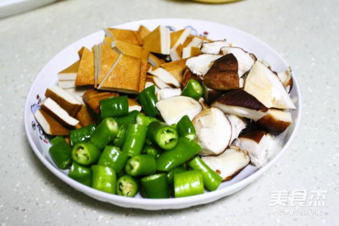 五花肉炒豆腐干的做法图解
