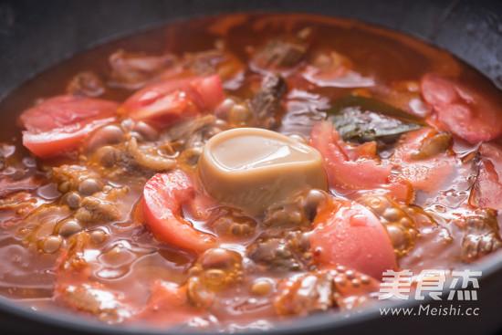 番茄炖牛腩的简单做法