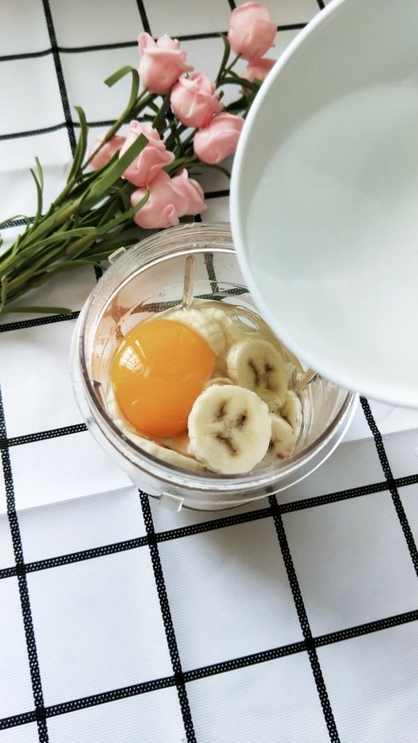 香蕉鸡蛋松饼的家常做法