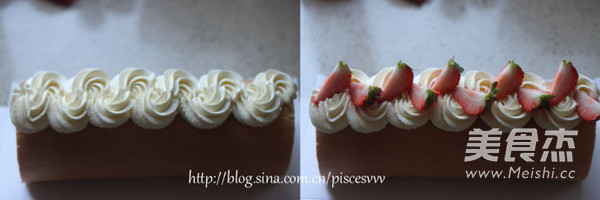 草莓奶油蛋糕卷怎么煸