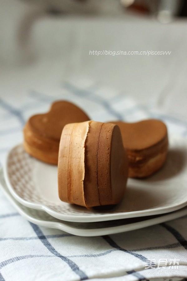花型红豆饼成品图