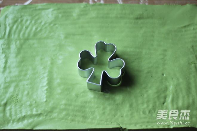 水玉抹茶夹心蛋糕卷的制作