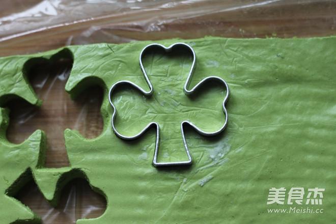 水玉抹茶夹心蛋糕卷的制作方法