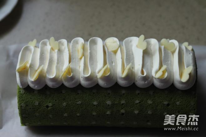 水玉抹茶夹心蛋糕卷的做法大全