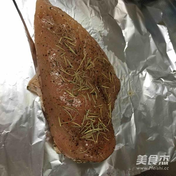 鸡胸脯肉的好吃做法的做法图解