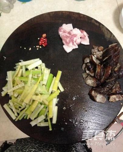 竹笋腊肉的做法图解
