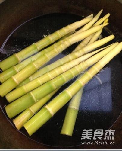 竹笋腊肉的做法大全
