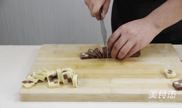妙搭烘焙 | 食谱 | 时尚又百搭的美味双色棋格小饼干怎样做