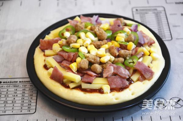 牛肉披萨培根怎么煸