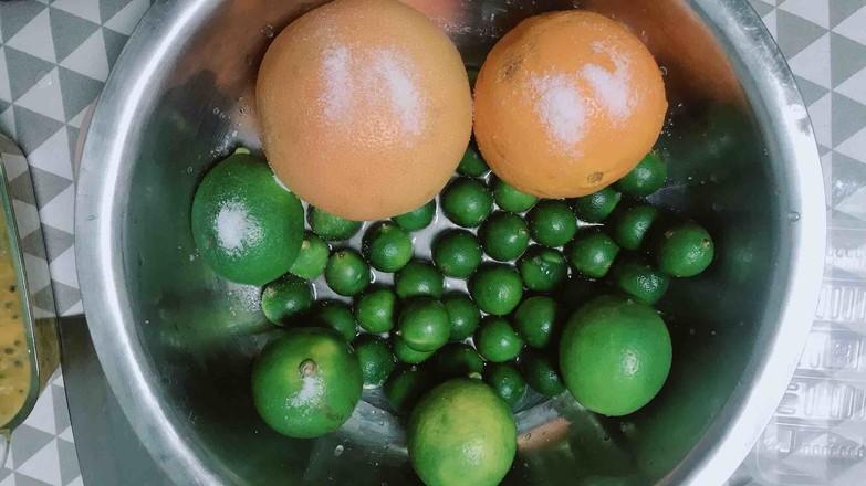 柠檬百香果蜜的家常做法