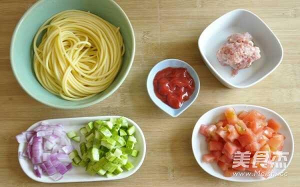 番茄肉酱意面的做法大全