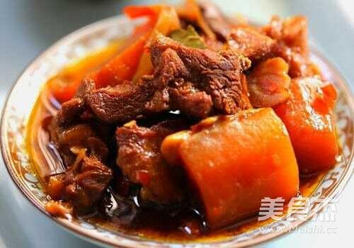 胡萝卜炖羊肉的简单做法