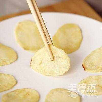 微波炉香脆薯片怎么做