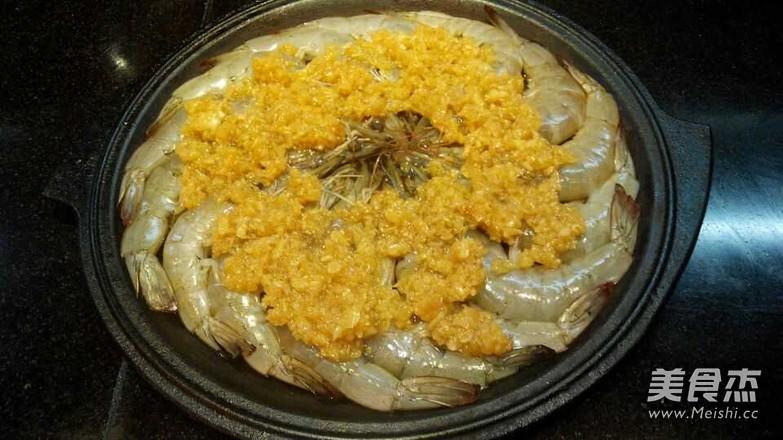 铁板蒜蓉虾的家常做法