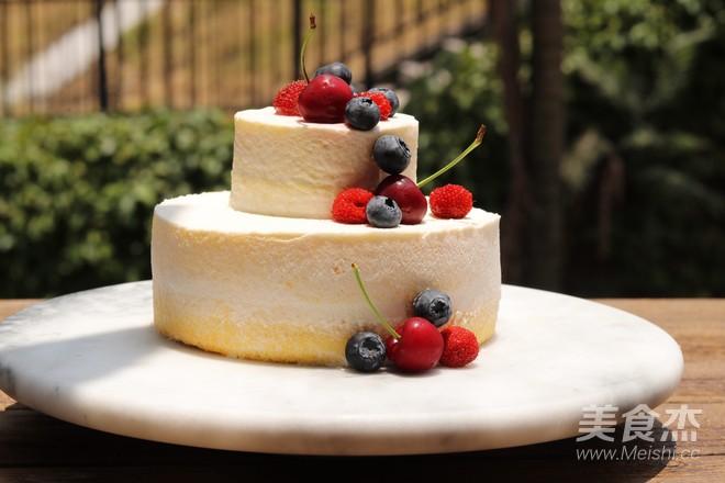6寸小清新蛋糕的制作