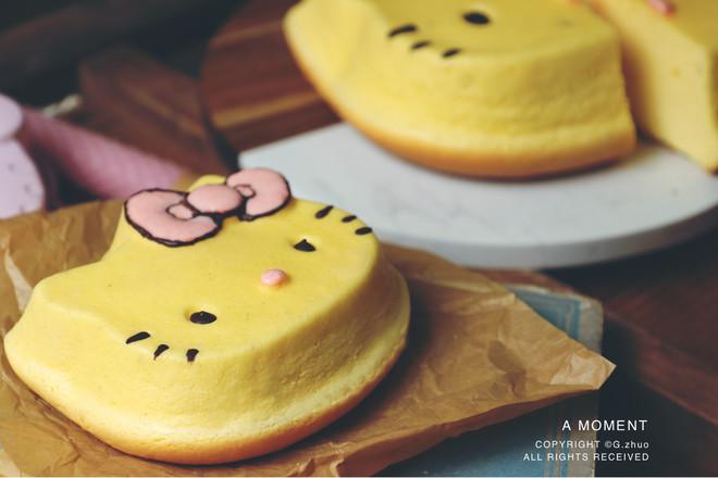 香草kitty轻芝士蛋糕怎么煸
