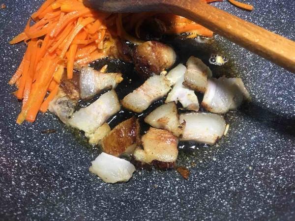 干豆角炒肉的简单做法